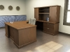 Jasper Desk Heartwood U Shape