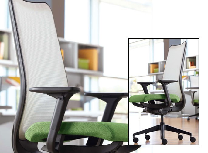 Chairs that work WITH you.