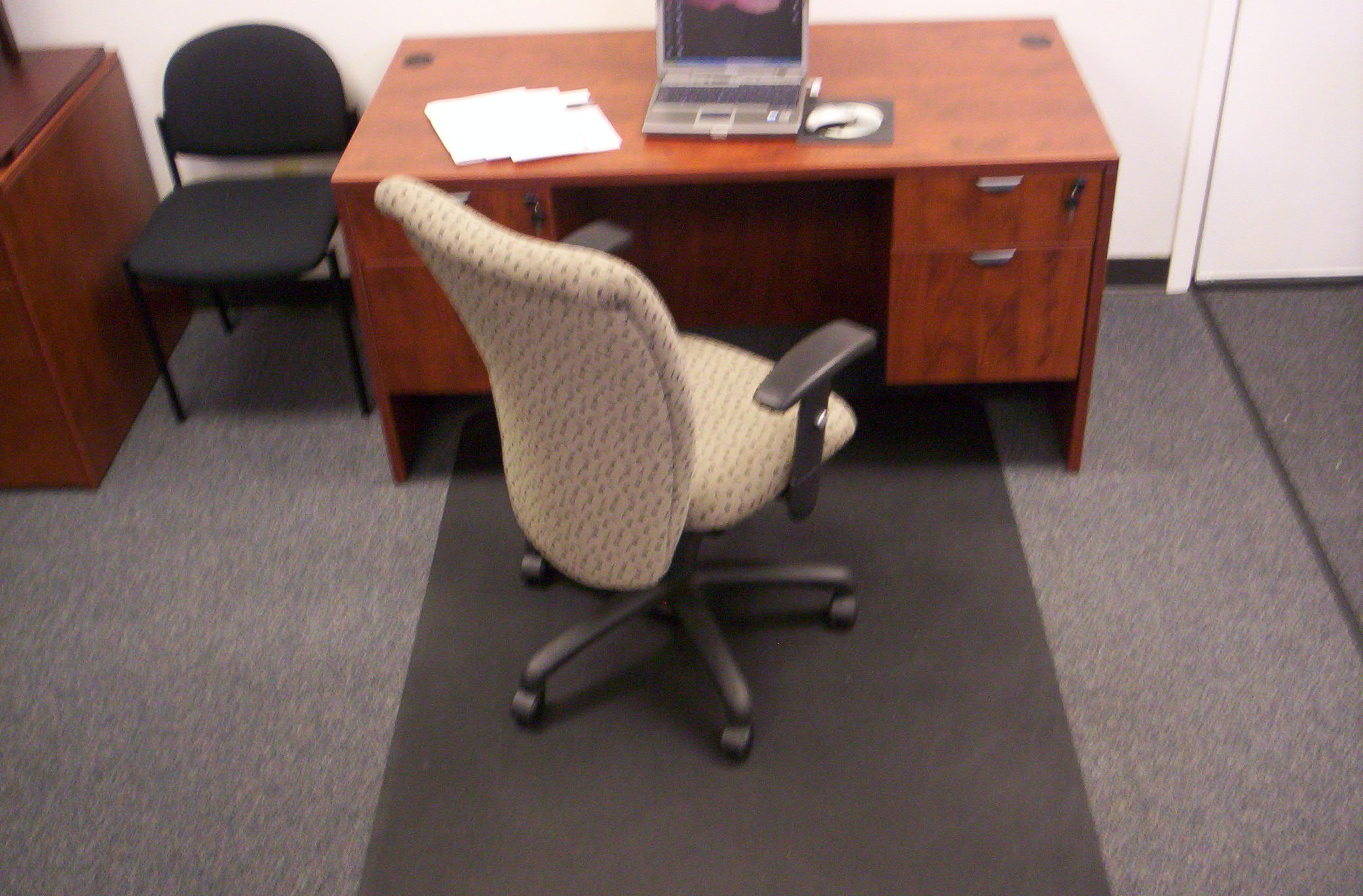 Black Eco Mat Pictured The Worlds Only 100 Recycled Chairmat Made From Rubber Tires And Plastic Sizes Up To 72 Wide 50 Long